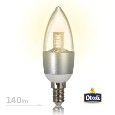 E14 4W 高亮水晶燈220~230V (黃光2入組)