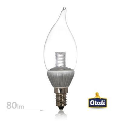 E14 3W 拉尾水晶燈 110V (白光2入組)
