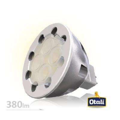 MR16 7W 投射燈-時尚銀 (黃光)